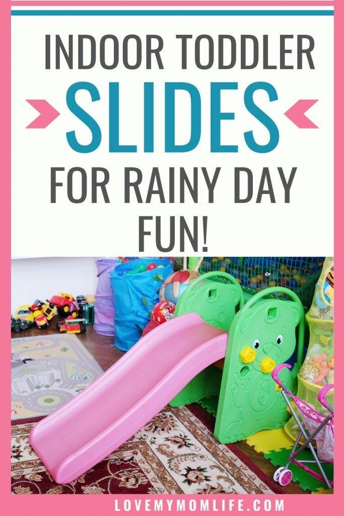 Indoor Slides for toddlers pinterest pin
